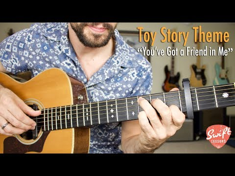 """""""You've Got a Friend in Me"""" Guitar Tutorial - Toy Story Theme - Randy Newman"""
