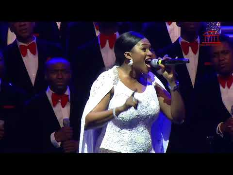 """Now Behold the Lamb"" by Waje and LCGC Live at TPH Carol Concert 2017"