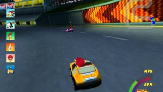 Woody Woodpecker Racing: Race #1