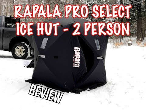 Rapala Pro Select 2 Person Ice Hut ONE YEAR LATER