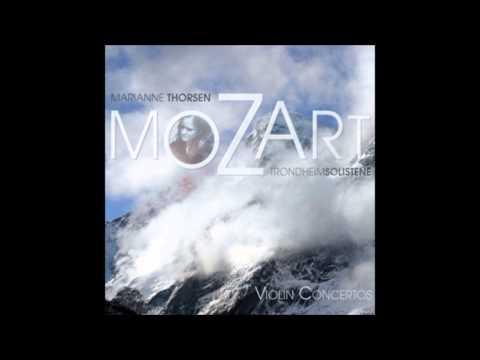 MAGICAL: Mozart Violin Concerto No4 K218 Allegro  Marianne Thorsen HD