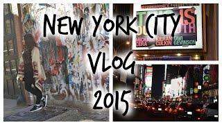NYC VLOG 2015 [HD] Thumbnail