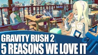 Gravity Rush 2 new gameplay - 5 Things We Love