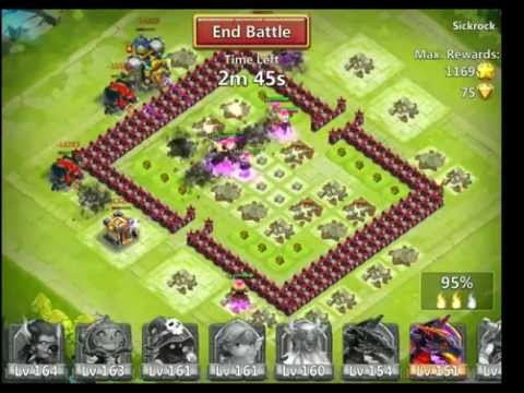 Castle Clash IOS Hero Expeditions Pwning Nubs