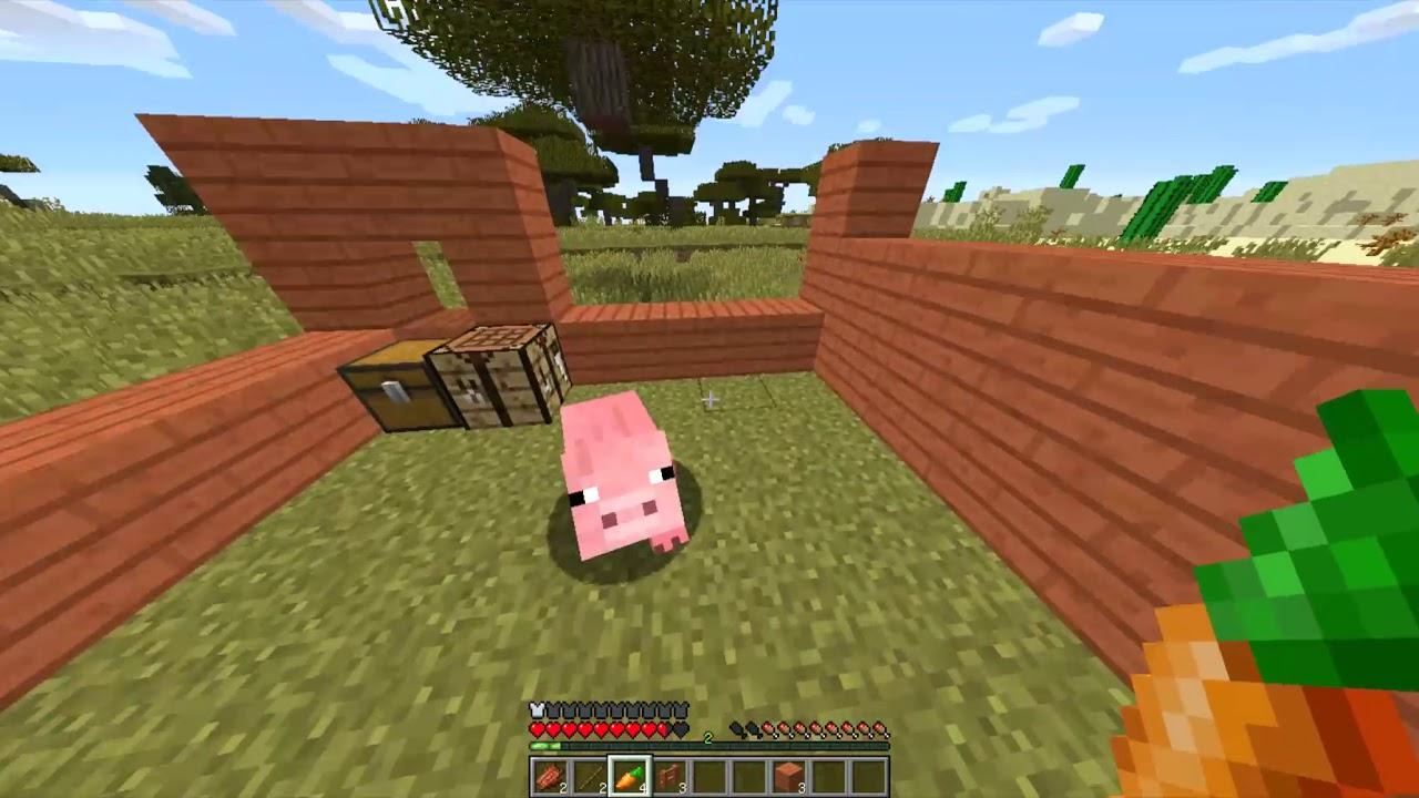 Minecraft - Выживание, часть 3 - YouTube