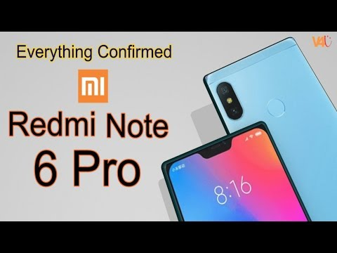 Xiaomi Redmi Note 6 Pro Official Specifications, Price, Release Date, First Look, Trailer, Launch
