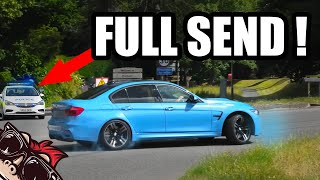 🐒 FULL SEND IN FRONT OF POLICE AT DRIVE-BY CAR SHOW!