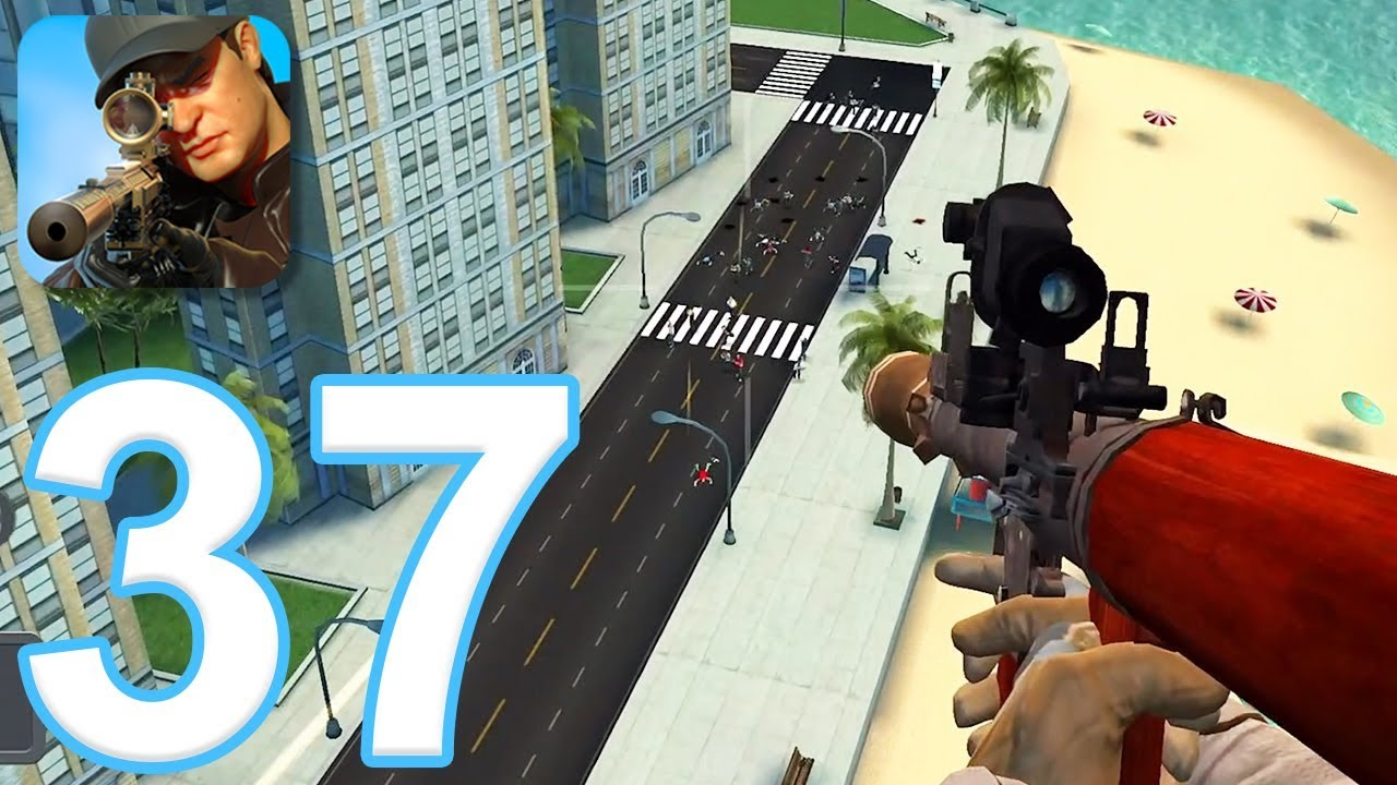 Sniper 3D Assassin: Shoot to Kill - Gameplay Walkthrough Part 37 - Region  12 Completed