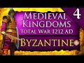 BYZANTINE RESTORATION! Medieval Kingdoms Total War 1212 AD: Byzantine Campaign Gameplay #4