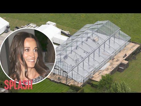 Preparations Underway for Pippa Middleton's Wedding | Splash News TV