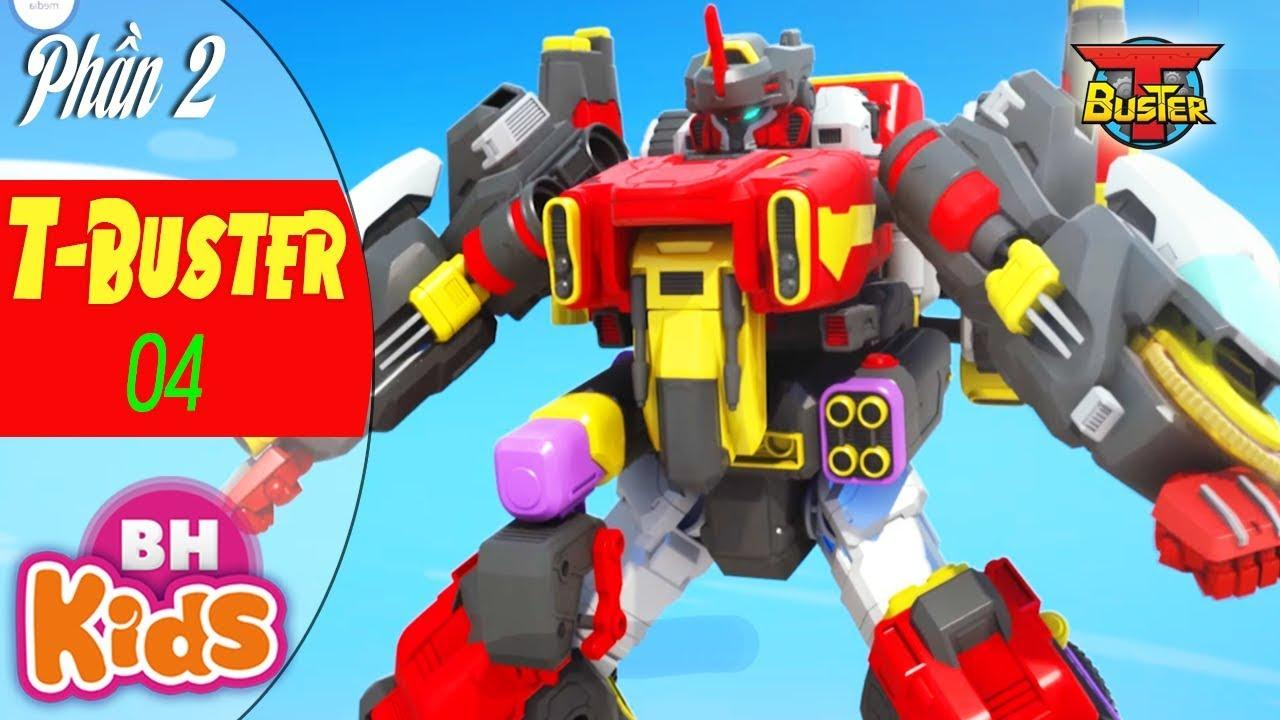 Phim Hoạt Hình Hay Nhất 2019 – ROBOT Người Máy T-Buster [P.2 – Tập 4]: Rượt Đuổi – Hoạt Hình