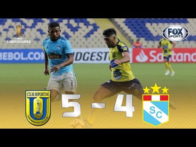 JOGAÇO! Veja os de gols Universidad Concepción 5 x 4 Sporting Cristal pela Conmebol Libertadores