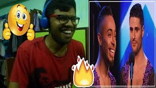 David and Javier double-up for SIZZLING salsa routine!|Auditions BGT 2018|Reaction & Thoughts