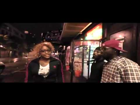 Sweets Monroe Freestyles On The Block For Hood Punishers