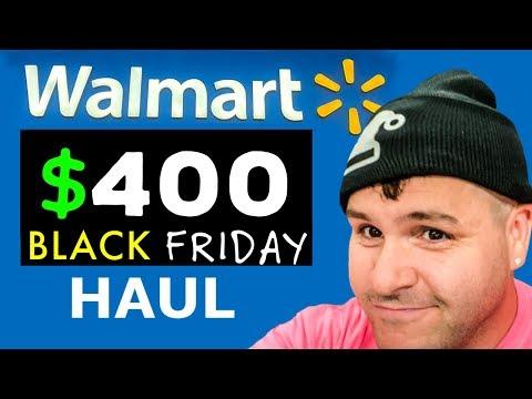 $400 Walmart Black Friday HAUL - Christmas Deals 2019