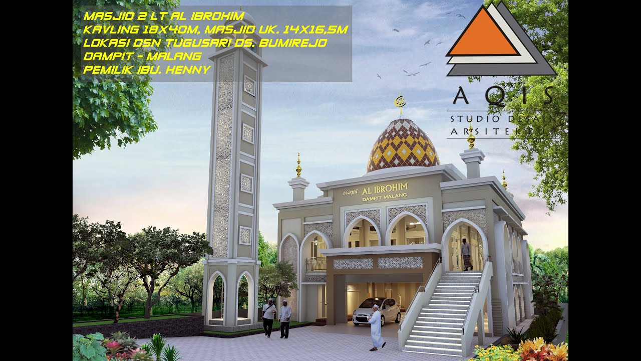 Desain Masjid 2 Lantai - YouTube