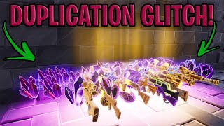 *NEW Duplication Glitch* 😱🤫 Works with Guns, mats etc... Real Or Fake? in Fortnite Save The World