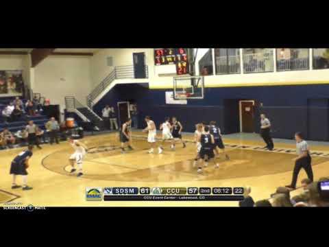 Hardrocker MBB Highlights vs Colorado Christian University