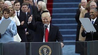 Дональд Трамп принёс присягу и стал президентом США