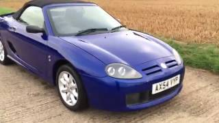 2004 MG TF ROADSTER CONVERTIBLE VIDEO REVIEW