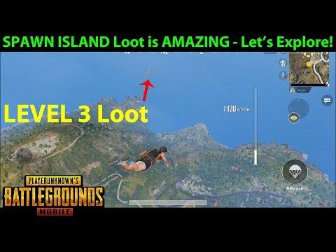 "THERE'S AMAZING LOOT THERE?!?! - ""Secret"" of Erangel SPAWN ISLAND Revealed | PUBG Mobile Lightspeed"