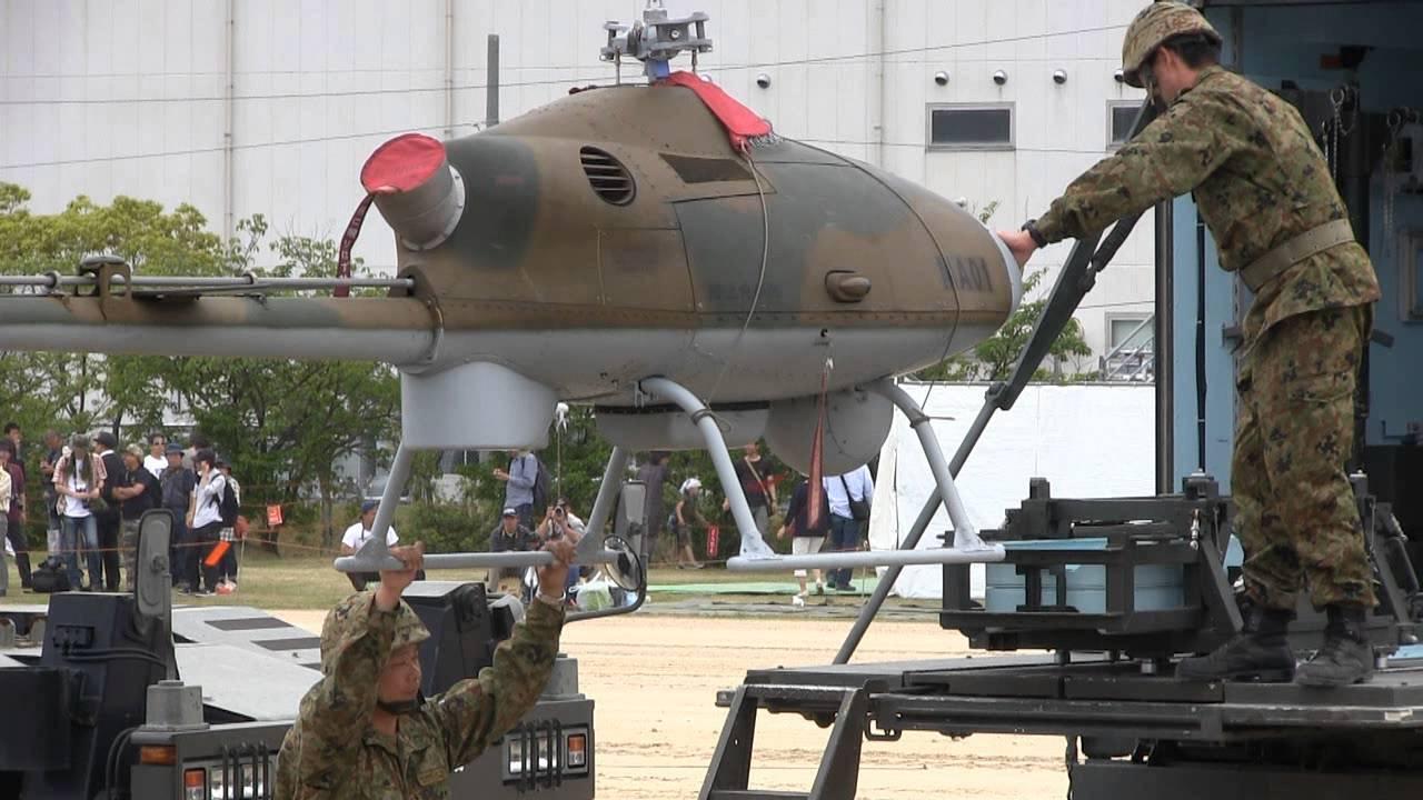 無人ヘリコプター RPH-2 解体・収納 陸上自衛隊 無人機 - YouTube