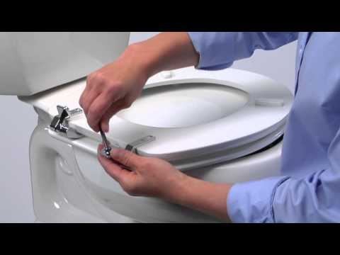 strong toilet seat hinges. Metal Hinge Installation  YouTube