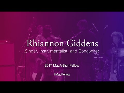Singer, Instrumentalist, and Songwriter Rhiannon Giddens | 2017 MacArthur Fellow