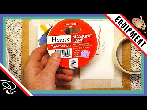Watercolour Painting Tips – A Little About Masking Tape