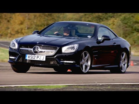 Trying The Mercedes SL350 And Its Ridiculous Technology - Fifth Gear