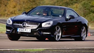 Trying The Mercedes SL350 And It s Ridiculous Technology Fifth Gear смотреть