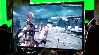 Ryse: Son of Rome E3 gameplay and commentary