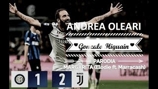 HIGUAIN E INTER JUVE - MARGARITA - Parodia - (Elodie ft. Marracash)