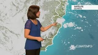 Previsão Grande Vitória – Chuva leve