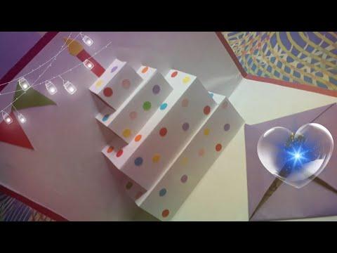 Diy birthday pop up card || easy card ideas || diy with me