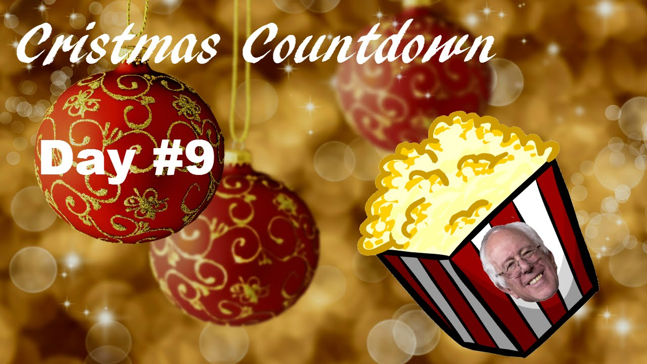 Countdown to Christmas - #9 - Bernie Sanders Shirt popcorn - YouTube