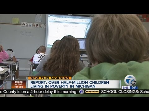 New report finds more kids living in poverty