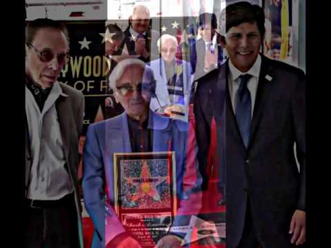 8/24/17 CONGRATULATIONS CHARLES AZNAVOUR, HOLLYWOOD STAR WALK-of-FAME !