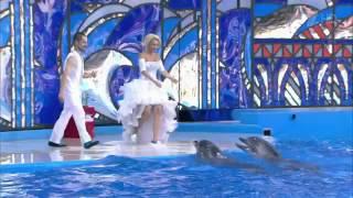 Вместе с дельфинами   Лера Кудрявцева  Выступление  Вместе с дельфинами  Фрагмент выпуска от 03 10 2