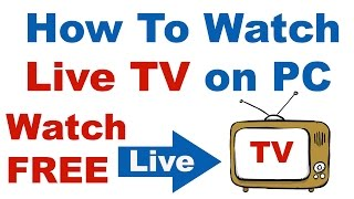 How To Watch Live TV on PC  for FREE In Hindi/Urdu (Step By Step) Tutorial