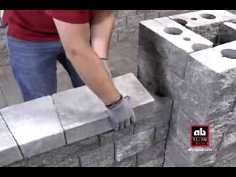 How To Cap Your Patio Wall Youtube