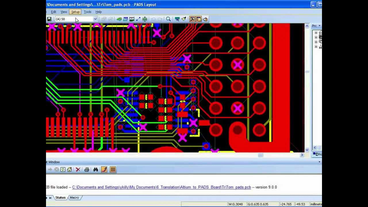 Translate Altium Designer Protel P Cad Orcad And Cadstar Designs Into Pads Youtube