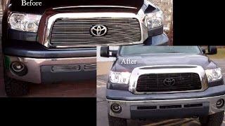 Toyota Tundra Grill (plasti Dip And Paint)