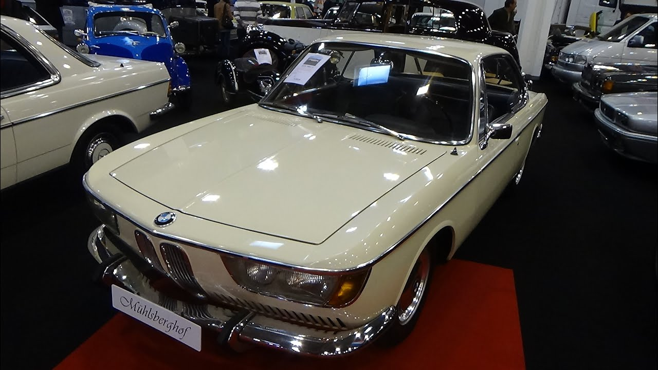 1968 - BMW 2000 CS - Exterior and Interior - Essen Motor Show 2015 ...