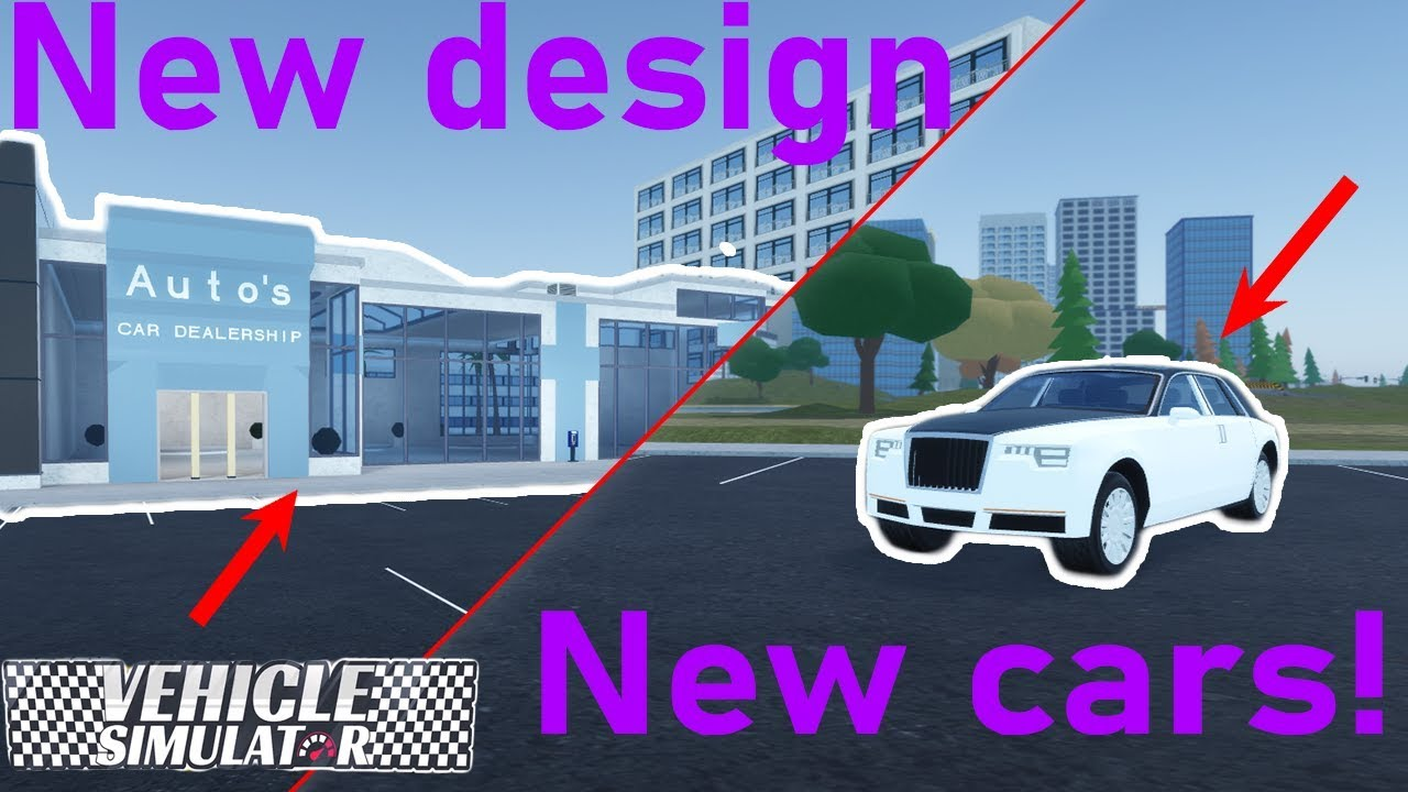 Vehicle Simulator Update New Dealerships And 4 New Vehicles