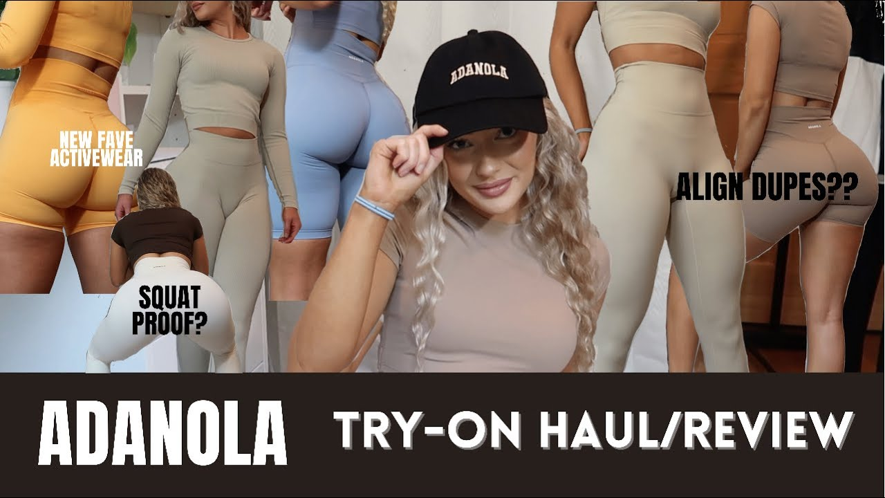 ADANOLA ACTIVEWEAR TRY ON HAUL & REVIEW | Best Affordable Athleisure Clothing & Leggings
