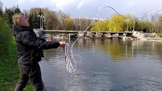 Магнитная рыбалка в Минске с поисковым неодимовым магнитом Непра f400х2 Монета хорошее начало