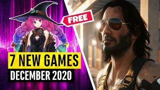 7 New Games December (1 FREE GAME)