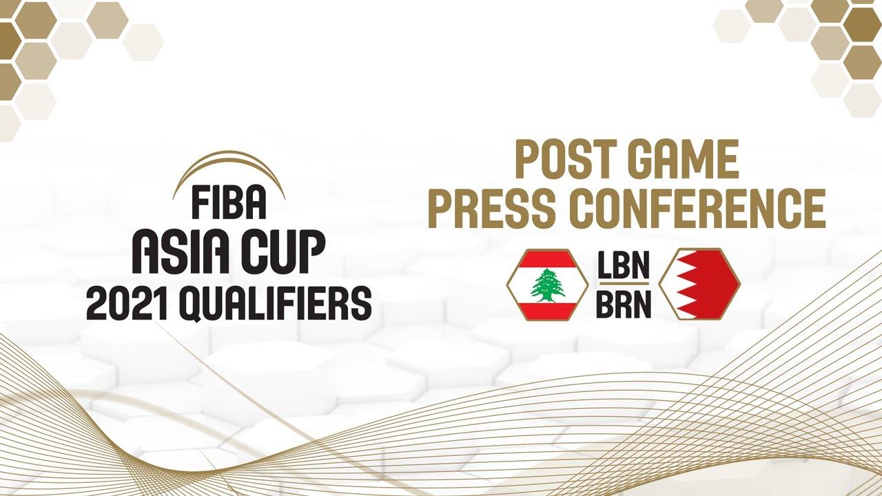 Lebanon v Bahrain - Press Conference