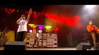 Major Lazer - Get Free At Glastonbury 2013